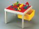 Gear No: 0920  Name: Flip-Top Playtable Red DUPLO/Gray LEGO Top