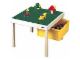 Gear No: 0921  Name: Flip-top Playtable Green DUPLO/Gray LEGO Top