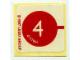 Gear No: 1249stk01  Name: Sticker for Set 1249 - (4117694)