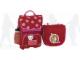 Gear No: 14038  Name: School Bag Set Heart Backpack (Large) with Cat and Sports Bottle, Girl Shoulder Bag
