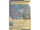 Gear No: 1614174  Name: Ninjago Masters of Spinjitzu Deck #2 Game Card *3 - Constrictai Grasp (Golden Card)