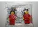 Gear No: 198561-2  Name: Minifigure Falck Female and Male Key Chain