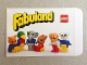 Gear No: 199240  Name: Fabuland Retailer Minifig Envelope