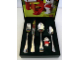 Gear No: 2036210P  Name: Food - Cutlery Set, BSF Kinderbesteck mit Paula Pudel (Fabuland Paula Poodle)