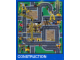 Gear No: 2729a  Name: Playmat, LEGO City - Construction