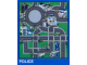 Gear No: 2729d  Name: Playmat, LEGO City - Police
