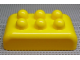 Gear No: 31772  Name: Storage Canister Rectangular Lid with Six Round Studs