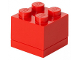Gear No: 40111730  Name: Storage Brick 2 x 2 Mini (60ml) Red