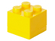 Gear No: 40111732  Name: Storage Brick 2 x 2 Mini (60ml) Yellow