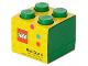 Gear No: 40111734  Name: Storage Brick 2 x 2 Mini (60ml) Green