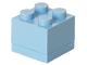 Gear No: 40111736  Name: Storage Brick 2 x 2 Mini (60ml) Bright Light Blue