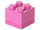 Gear No: 40111739  Name: Storage Brick 2 x 2 Mini (60ml) Dark Pink