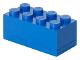 Gear No: 40121731  Name: Storage Brick 2 x 4 Mini (110ml) Blue