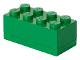 Gear No: 40121734  Name: Storage Brick 2 x 4 Mini (110ml) Green