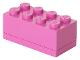 Gear No: 40121739  Name: Storage Brick 2 x 4 Mini (110ml) Dark Pink