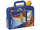Gear No: 4059chimablue  Name: Lunch Box Set, Legends of Chima, Blue with Yellow Bottle Cap