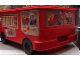 Gear No: 4112776pb02  Name: Duplo Storage Bin Large with Wheels with Fire Truck Stickers - Set 2583