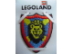 Gear No: 4202054  Name: Patch, Sew-On Cloth, Knights Kingdom I, Lion Shield
