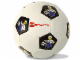 Gear No: 4202562  Name: Ball, Inflatable Soccer Ball, Large (9 in. dia.) - Figure on Black Background