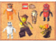Gear No: 4212475  Name: Sticker, Adventurers Orient Expedition images, 6 on 21cm x 15cm Sheet