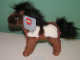 Gear No: 4213878  Name: Belville Small Brown / White Pony Plush