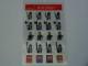 Gear No: 4222256  Name: Sticker, Minifigures Sheet, Castle