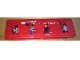 Gear No: 4222260  Name: Pencil Case, Castle Minifigures 'A legend in your own lifetime.' Pattern - Metal