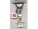 Gear No: 4224435  Name: Astronaut Key Chain with 2 x 2 Square Lego Logo Tile