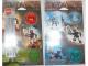 Gear No: 4228303  Name: Sticker, Bionicle Metru Nui Matoran, set of 2 sheets, images of sets 8607 to 8612