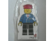 Gear No: 4229620  Name: Memo Pad Minifig - (L) Railway Employee