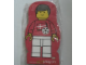 Gear No: 4229622  Name: Memo Pad Minifig - (N) Football Player (Soccer Player)