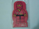 Gear No: 4229645  Name: Memo Pad Minifig - (X) Ninja Red