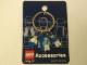 Gear No: 4248977  Name: Minifigures Metal Key Chain - Sport (Blue)