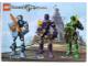 Gear No: 4259592  Name: Sticker, Knights Kingdom II (set 8809) Jayko, Danju, Rascus