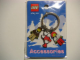 Gear No: 4271433  Name: Minifigures Metal Key Chain - Arctic Valentine 2005 (Red Hearts)
