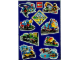 Gear No: 4322818  Name: Sticker, Lego City Images Sheet