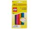 Gear No: 434  Name: Crayons, Brick Shaped 8 Colors