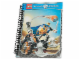 Gear No: 4494686  Name: Notebook, Knights' Kingdom, Spiral Bound