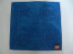 Gear No: 4495473  Name: Towel, Lego Logo 2 x 2 Studs 25 x 25cm, Blue
