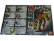 Gear No: 4499335  Name: Sticker, School Book Labels (Bookplates) - Bionicle Inika, plus 15 more Stickers