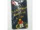 Gear No: 4503043  Name: Girl Minifigure Flat Metal Key Chain