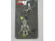 Gear No: 4507871  Name: Skeleton with Spider Flat Metal Key Chain - Funny Night