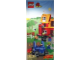 Gear No: 4508748  Name: Display Flag Cloth, Duplo LEGO Ville Farm Tractor