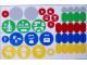 Gear No: 45100stk01  Name: Sticker for Storage Trays of Set 45100 - (13101/6023521)