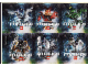Gear No: 4518195  Name: Sticker, Bionicle Mahri Theme, Sheet of 6 Stickers