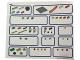 Gear No: 45210stk01  Name: Sticker for Storage Tray of Set 45210 - (6104493)