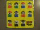 Gear No: 4538528  Name: Towel, Lego Duplo Family 25 x 25cm, Yellow