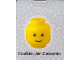 Gear No: 4541569  Name: Food - Cookie Jar, Ceramic Minifig Head