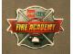 Gear No: 4586608  Name: Sticker, Lego City Fire Academy Badge, 3D