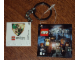 Gear No: 4599521  Name: 4 x 4 Tile, Modified - Key Chain with HP Slytherin Crest Pattern (Sticker)